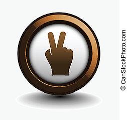 victory  web icon