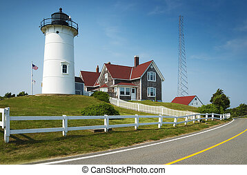 Nobska lighthouse - Nobska Nobsque Light is located at the...