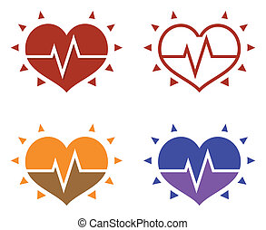 icons of human heart