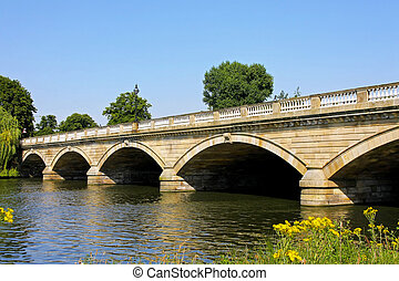Hyde Park bridge - Old stone bridge in Hyde Park London