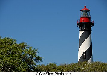 St Augustine Lighthouse completed in 1874 historic St...