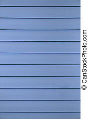 Siding - A blue colored design example of a siding which has...