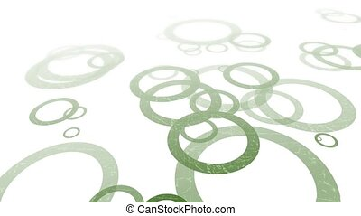 Title Frame Random Rings Loop HD - Graphic background...