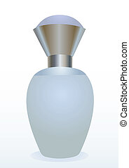 Small bottle of a perfume for women