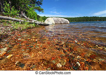 Clear Waters of Northwoods Wisconsin - Beautifully colored...