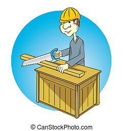 Carpentry - working as a professional carpenter and creative