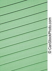 Siding - A green colored design example of a siding which...