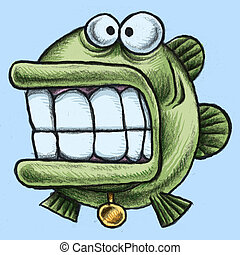 Fish - A cartoon fish.