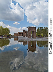 Templo Debod - Debod Temple, Madrid Spain, Egyptian Temple