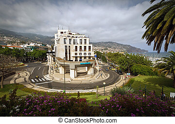 Panoramic view of Funchal, Madeira Portigal, Vista Genaral...