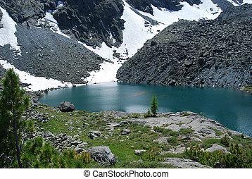 alpine lake - Gorny Altai, Russia