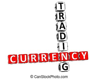 3D Currency Trading Crossword
