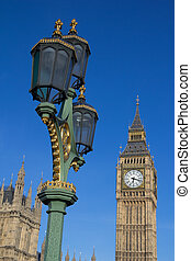 Big Ben and Lamp Post