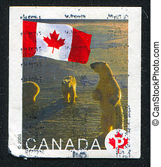 postage stamp - CANADA - CIRCA 2006: stamp printed by...