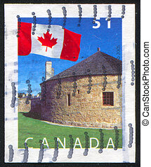 postage stamp - CANADA - CIRCA 2005: stamp printed by...