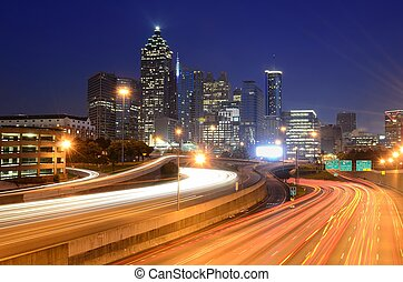 Atlanta, Georgia - downtown atlanta skyline