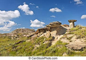 Badlands, Alberta, Canadá