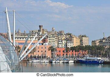 Harbour, Genoa, Italy