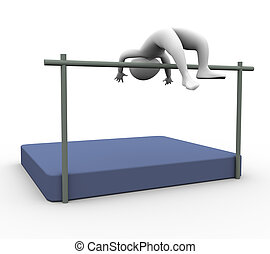 3d high Jumper