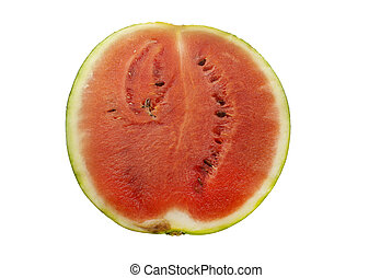 Isolated water melon