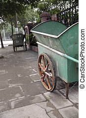Cleaning trolley in China
