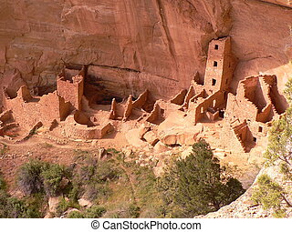 Mesa Verde National Park - The Square Tower House of the...