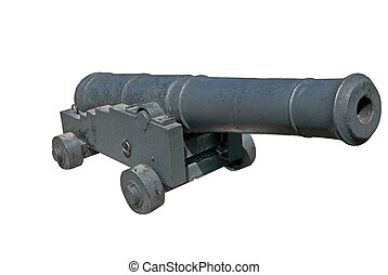 Old ship gunl Guns concern to the Crimean war of 1854