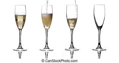 quattro, champagne