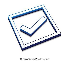 positive checkmark icon