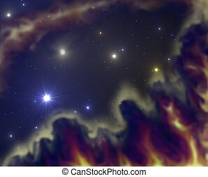 stardust - space nebular