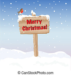 Merry Christmas sign day