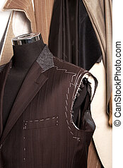 Tailors mannequin a Work in progres - detail of tailors...