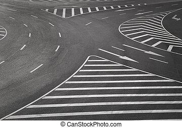 road markings - SONY DSC