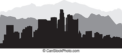 los angelos skyline