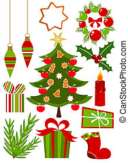 Christmas icons collection - Christmas icons ans symbols...