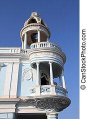 Cienfuegos, Cuba - Cuba - colonial town architecture. Old...