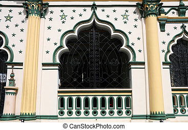 Mosque in Singapore - Masjid Abdul Gaffoor. Little India...