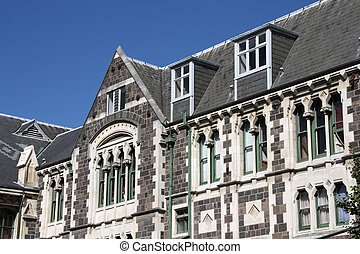 Christchurch Arts Centre - old landmark in Christchurch, New...