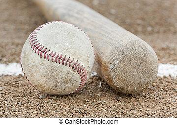 Un, beisball, beisball, Murciélago