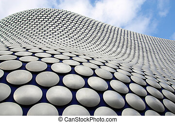 Birmingham - famous Selfridges building dotted facade West...