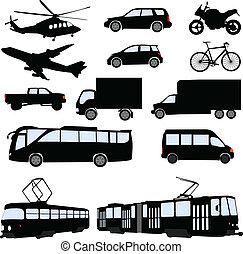 Transportation - vector illustration