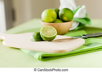 Lime - photo of delicious lime inside a bowl taken by...