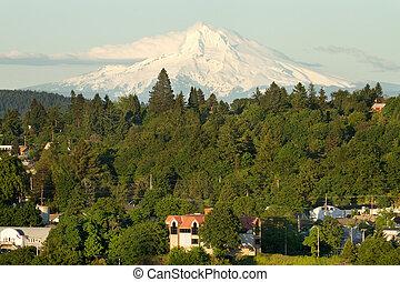 Mount Hood and Oregon City
