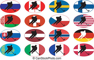symbols of hockey nations