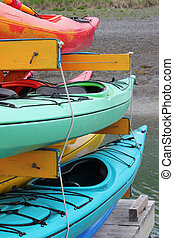 Kayak, colorito