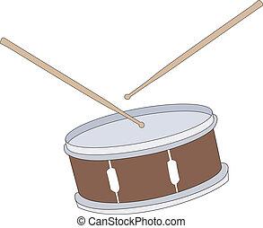 Illustration of drum - drum