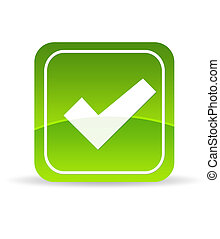 Green Check Mark Icon - High resolution green check mark...