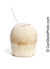 Cool refreshing coconut drink