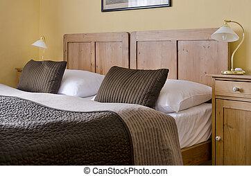 hotel, dormitorio