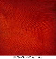 Red brushstroke textured abstract background with text space